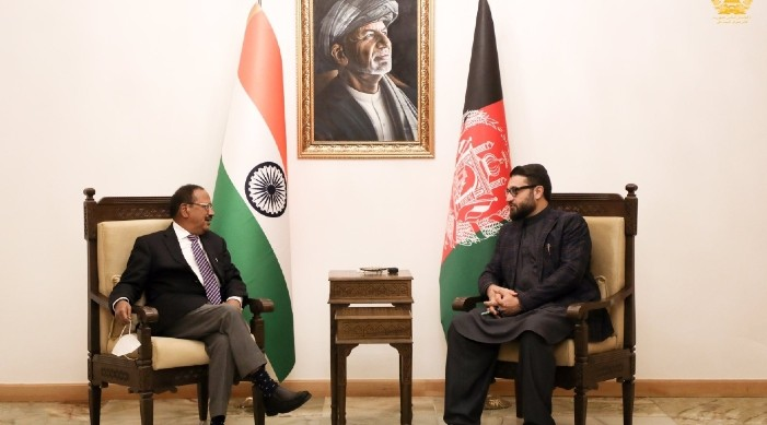 NSA Doval visits Afghanistan, discusses terror with President Ghani