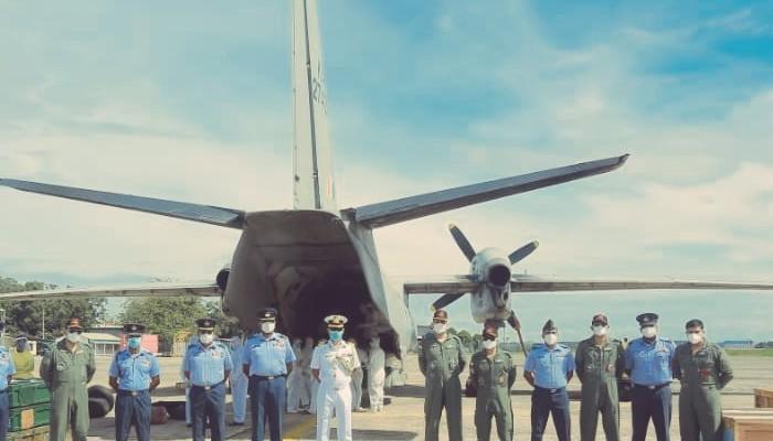 India provides spares for air surveillance radar worth Lk Rs 200 Million to Sri Lanka