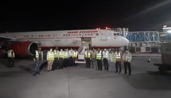 India sends 1 million doses of Covishield to Nepal