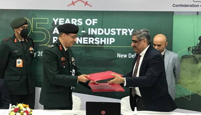 Indian Army signs MoU with defence manufacturers on indigenization and innovation partnership