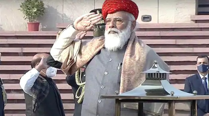 PM Modi greets the nation on 72nd Republic Day