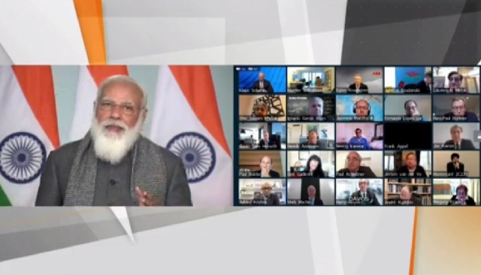 Many more Covid-19 vaccines will come from India: PM Modi at Davos Dialogue