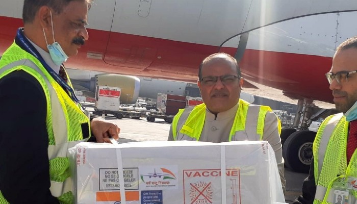 India sends 100,000 doses of Covid-19 vaccines to Bahrain as gift
