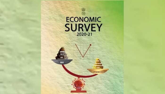 Economy heading for strong V-shaped recovery with 11% growth in 2021-22: Economic Survey 2021