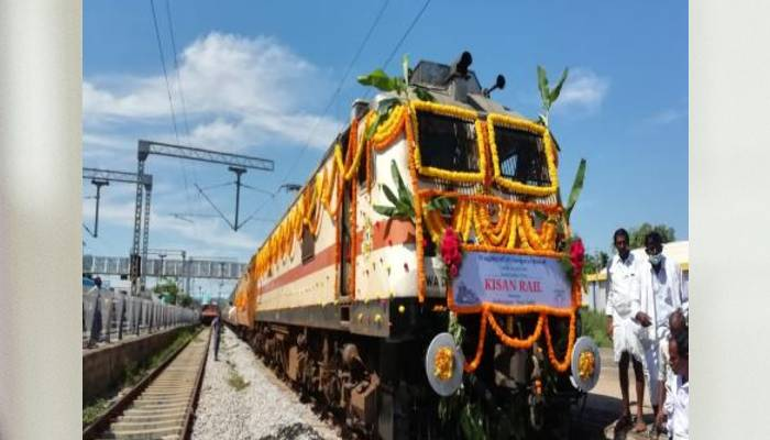 Indian railways introduces Kisan Rail services in 18 routes