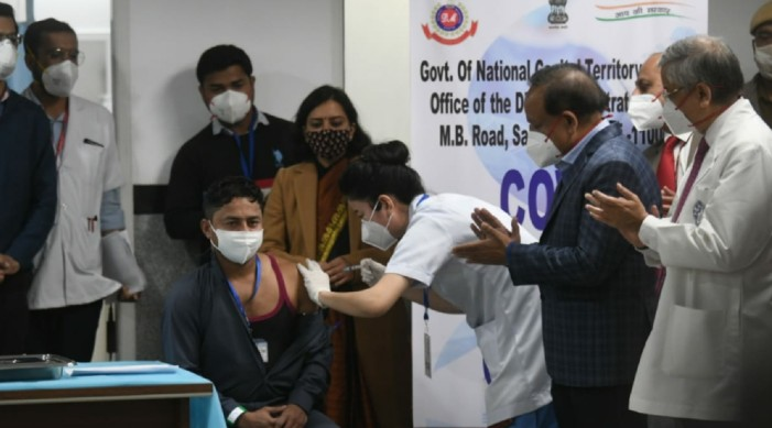 India vaccinating people faster than anywhere in the world: PM Modi
