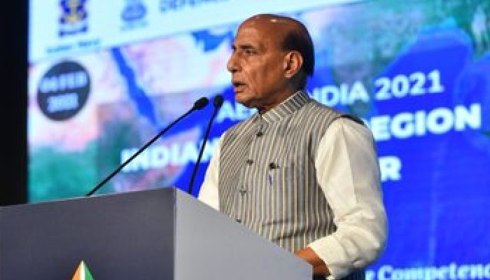 India ready to supply military equipment to IOR countries: Rajnath Singh