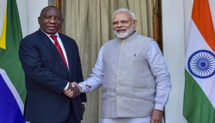 India will serve vaccine needs of all countries, PM Modi tells S African Prez