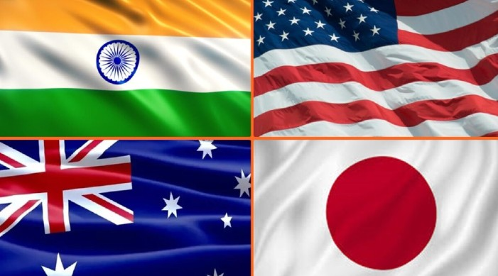 India, Japan, Australia and US plan to hold summit, says the Japanese daily
