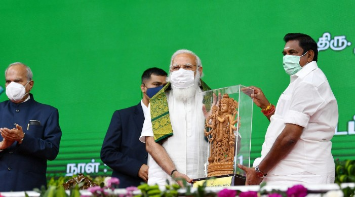 India scaling up physical, social infra at rapid pace: PM Modi