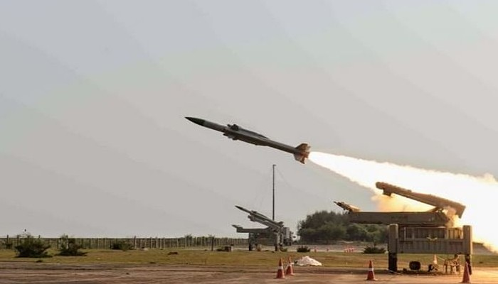India flags off production of LRSAM system