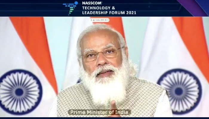 When the chips were down, your code kept things running, PM Modi tells IT industry