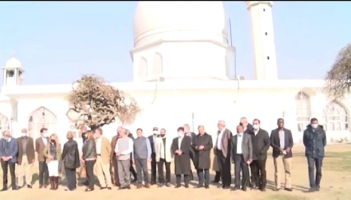 Group of 24 foreign envoys on two-day visit to Jammu and Kashmir