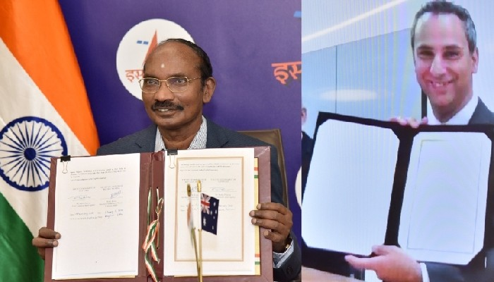 ISRO signs MoU with Australian space agency to further space cooperation