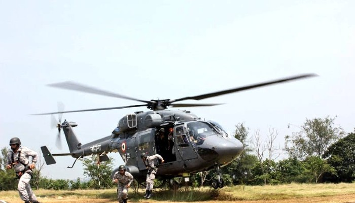 Indian Navy Chief reviews important aspects of TROPEX-21 exercise
