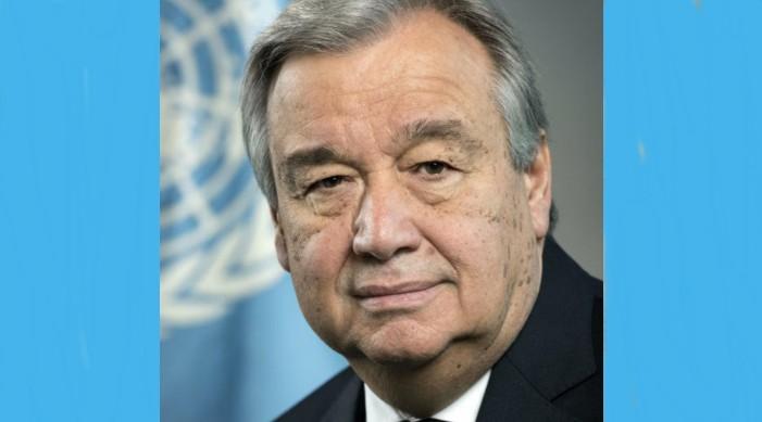 UN Secretary General calls India global leader in COVID19 pandemic response efforts