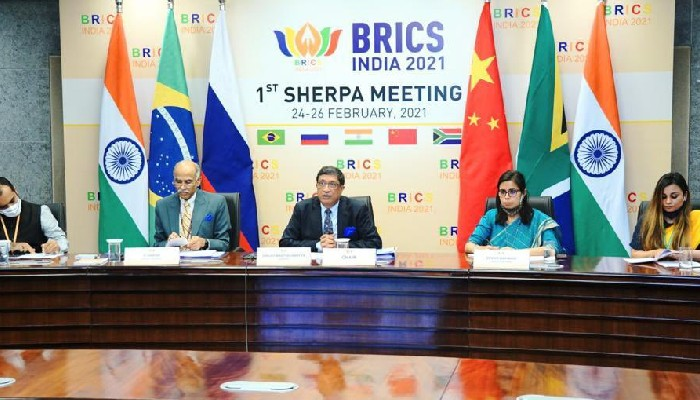 BRICS Sherpas hold first meeting under India's presidency