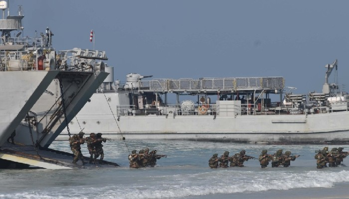 Andaman & Nicobar Command demonstrates joint operations between three services