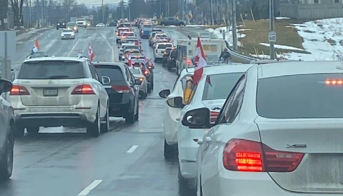 Happy with Canada getting India supplied vaccines, thousands of Indo-Canadians hold massive car rally in Ontario