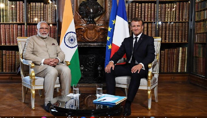 Growing India-France partnership for maritime security