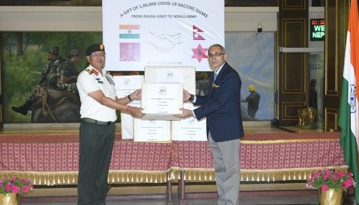 इएएम जयशंकर र नेपालका परराष्ट्रमन्त्री ले टेलिफोनिमा कुराकानी गर्दै कोविड सहयोगका बारे छलफल गरे।