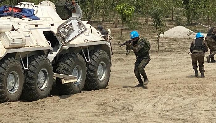 बहुराष्ट्रिय सैन्य अभ्यास शांतिर ओग्रोसेना बंगलादेशमा सम्पन्न भयो।