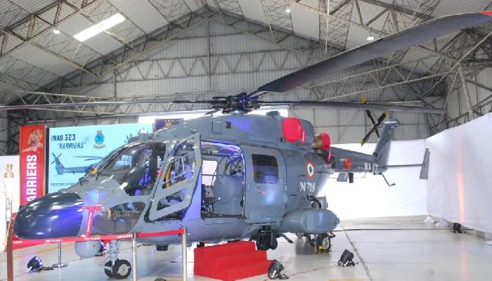 स्वदेशमा निर्मित एएलएच एमके III नौसेना सेवामा प्रवेश गरेको छ।