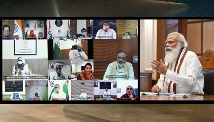 प्रधानमन्त्रीको अध्यक्षतामा मन्त्रिपरिषद्को बैठक। कोविड १९ अवस्थाको समीक्षा।