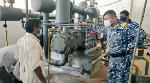 2 major Oxygen production plants in Andhra Pradesh repaired by Indian Navy