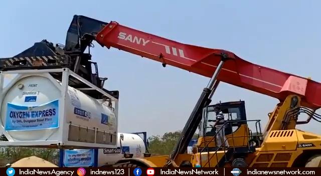 Indian Railways has transported over 10,300 MT Liquid Medical Oxygen
