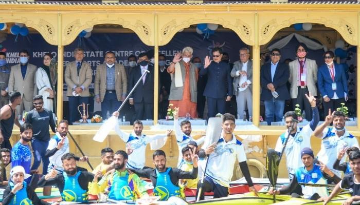 श्रीनगरको खेलो इंडिया सेन्टरमा कायाकिंग र कैनोइंग प्रशिक्षण सुविधाहरू थपिएका छन्।