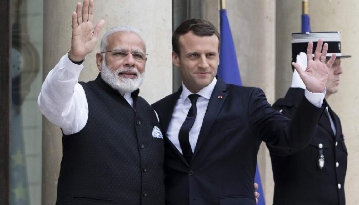 भारत-यूरोपीय संघका नेताहरूको बैठकः प्रधानमन्त्री मोदी र राष्ट्रपति म्याक्रोनले सकारात्मक परिणाम बारे छलफल गरे।