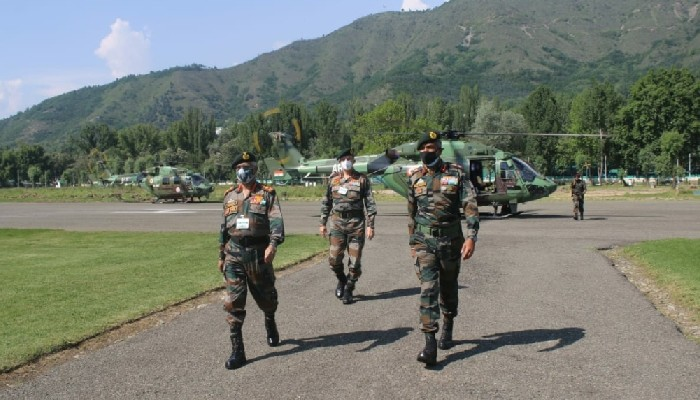 कश्मीर घाटी को सुरक्षा अवस्थाको समीक्षा गर्न सेना प्रमुख दुईदिने भ्रमणमा