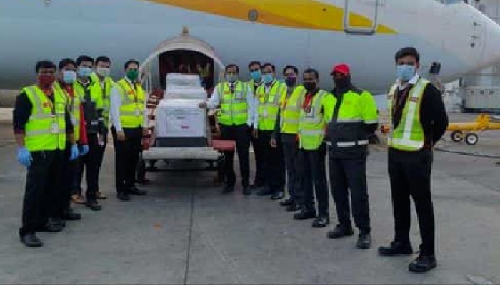 Pune airport transports over 100 million doses of Covishield vaccine doses