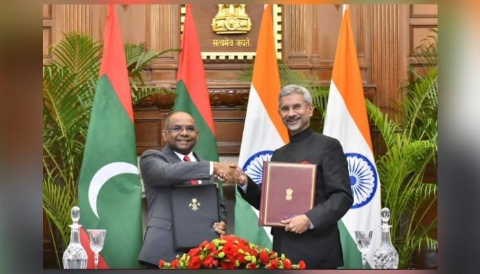 विदेश मंत्री जयशंकरले माल्दिभ्सका परराष्ट्रमन्त्रीलाई युएनएजी अध्यक्षको रूपमा निर्वाचित भएकोमा बधाई दिए।