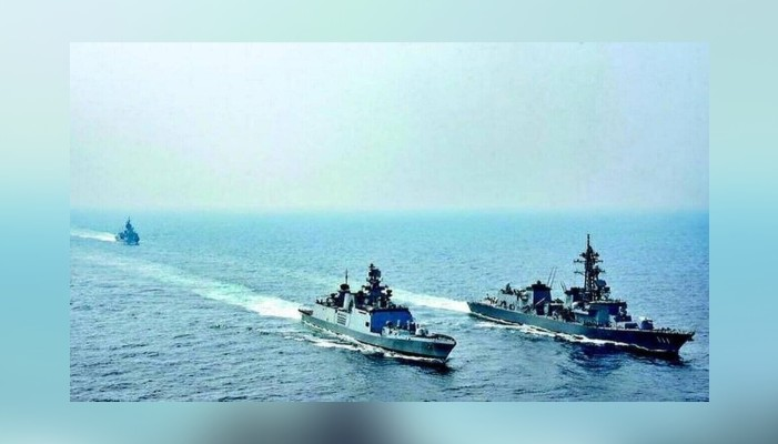 India and Thailand begin their three-day marine exercise in Indian Ocean