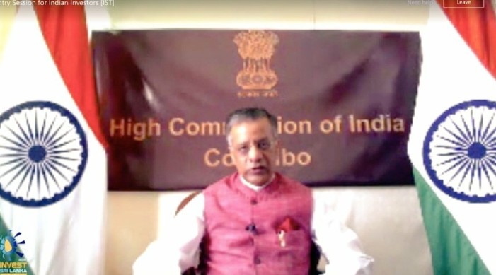 'Indian business and industry, best suited to partner with Sri Lanka:' Indian Envoy