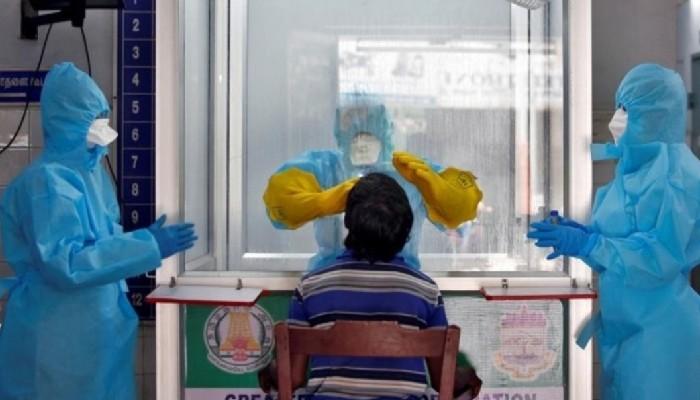 कोविड १९ अपडेट: लगातार छैठौं दिन दैनिक नँया संक्रमित संख्या एक लाख भन्दा कम