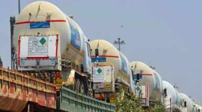 Oxygen Express continues to deliver LMO to India