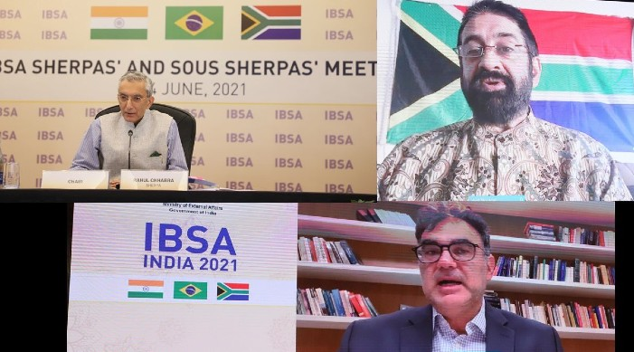 IBSA Sherpas reiterate commitment for strengthening of trilateral partnership