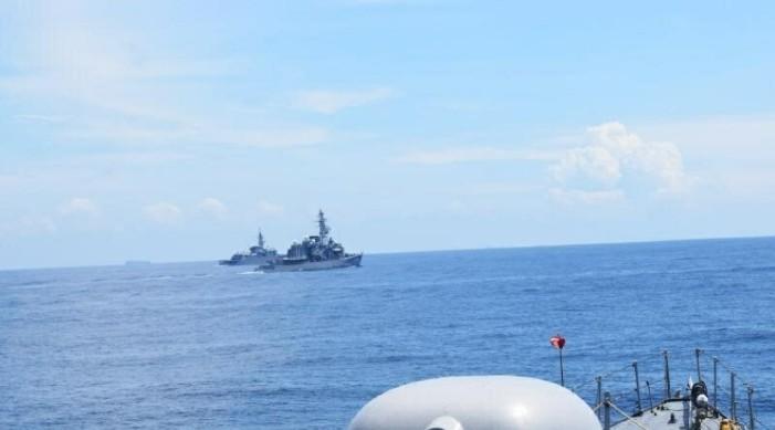 India-Japan Bilateral Maritime Exercise 'PASSEX' held in Andaman Sea