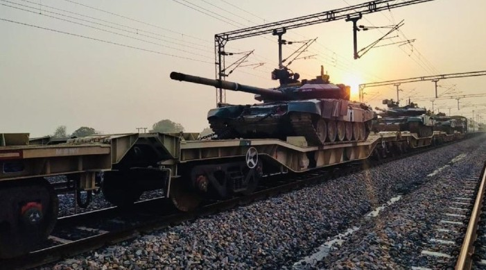 Rail route for faster movement: Indian Army conducts trial on freight corridor