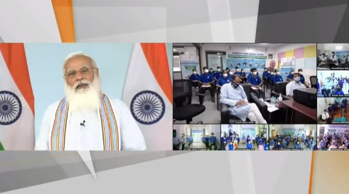 Customized crash courses for 1 lakh Covid-19 frontline workers launched by PM Modi