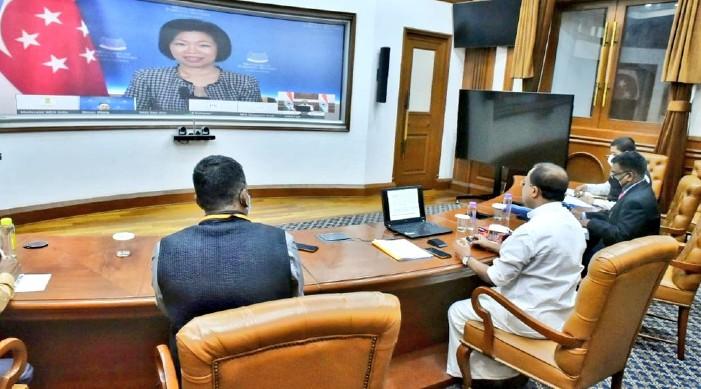भारत र सिंगापुर द्विपक्षीय रणनीतिक साझेदारी सुदृढ गर्न सहमत