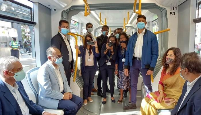 प्रमुख भारत-मॉरीशस मेट्रो एक्सप्रेस परियोजना को थप एक खण्ड सेवाको लागि खुल्ला