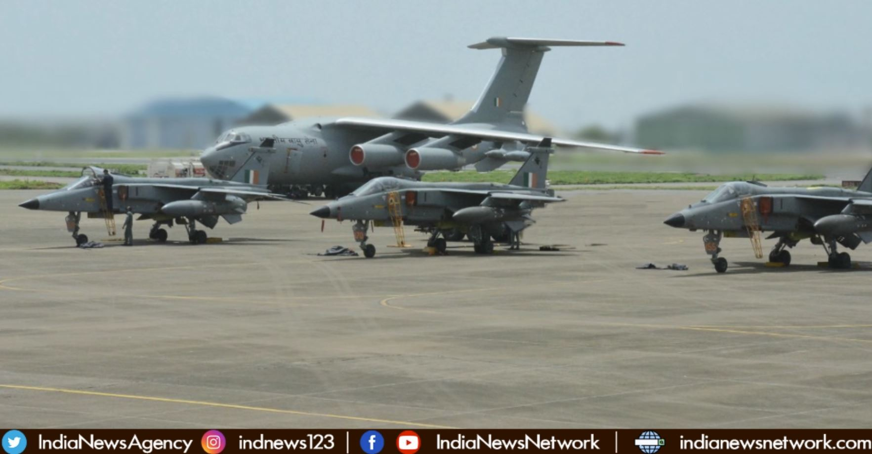 Indian Air Force, Indian Navy exercise with US Navy's Carrier Strike Group