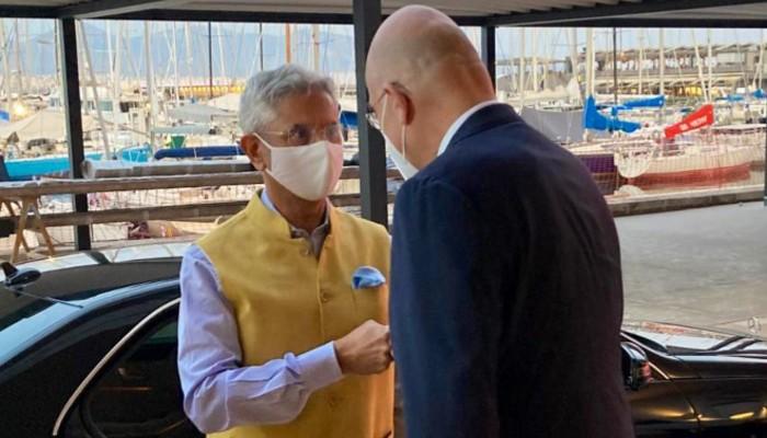 विदेश मंत्री जयशंकर र उनका ग्रीक समकक्षी बीच क्षेत्रीय र वैश्विक मुद्दामा छलफल
