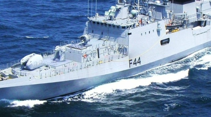 भारतीय, अफ्रिकी, युरोपेली र रसियाली नौसेना संयुक्त अभ्यासमा भाग लिँदै