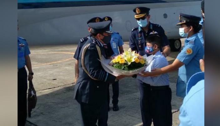 भारतीय वायुसेना प्रमुख तीनदिने बंगलादेश भ्रमणमा