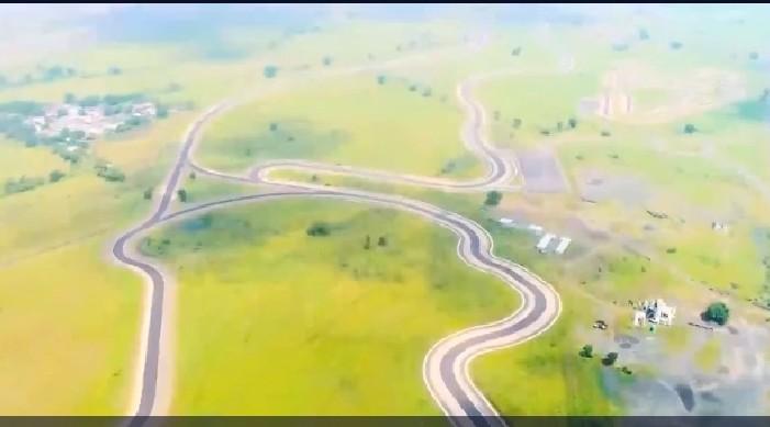 भारतमा एशियाकै सबैभन्दा लामो सडक निर्माण, जस्तो सुकै उच्च गति परीक्षण को लागि सक्षम